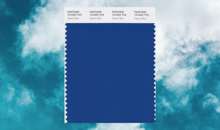 Pantone kleur van het jaar 'Classic Blue'