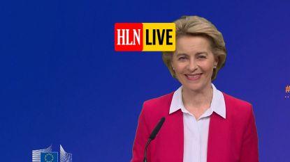 HLN LIVE. Europese Commissie wil herstelfonds van 750 miljard euro