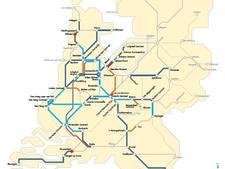 Minder treinen rond Nijmegen, Arnhem en Utrecht door storm