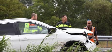 Automobilist gewond bij ongeluk op A2 bij Liempde