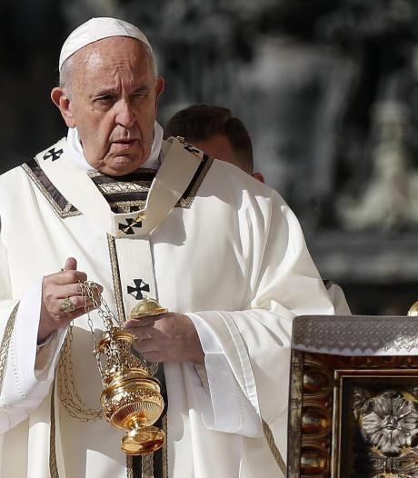 Paus onbedoeld fan van New Orleans Saints