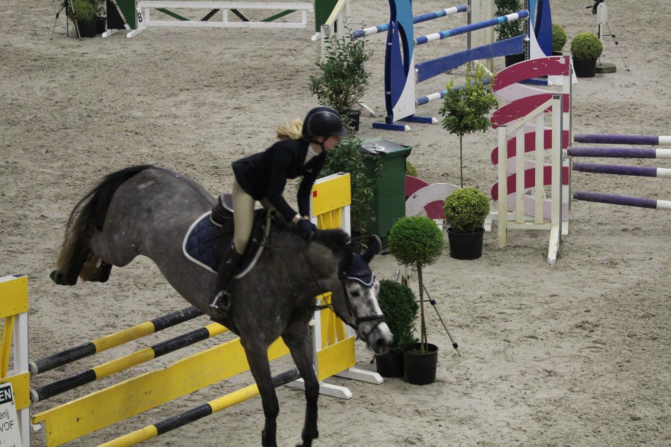 Marieke de Bat werd vijfde in Nieuw- en Sint Joosland.