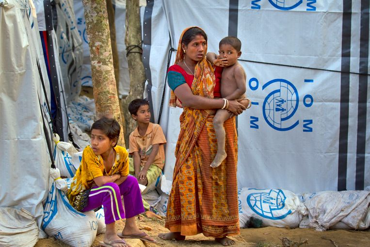 Hindoe-vluchtelingen in Bangladesh