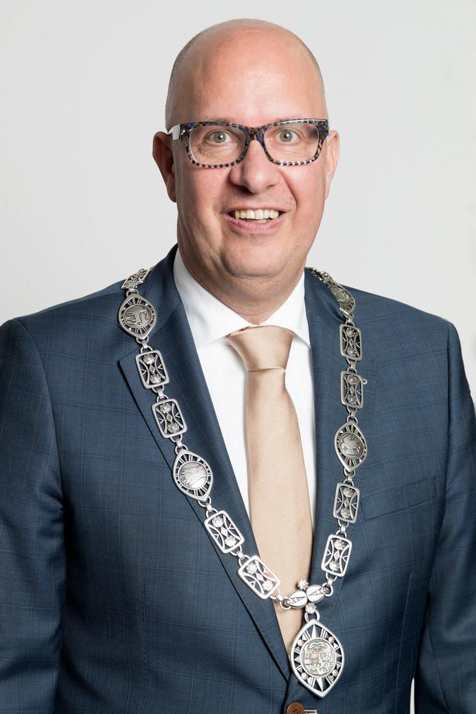 Nederland,  Den Bosch, burgemeester Jack Mikkers