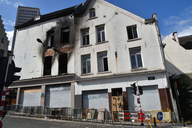 Brand Keizerlaan Brussel