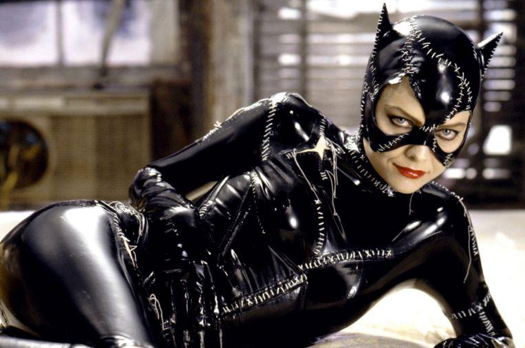 Michelle als Catwoman