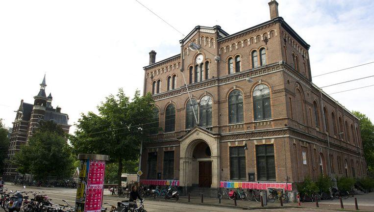 Exterieur van poptempel Paradiso in Amsterdam. Foto ANP Beeld