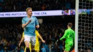 Man City-fan zette in op 9-0-zege en De Bruyne die eerste goal maakt