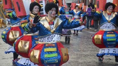 Stormweer en regen, maar carnavalisten gaan door