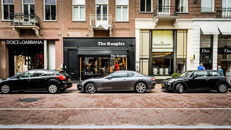 De Amsterdamse P.C. Hooftstraat. Beeld anp