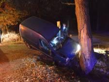Auto vliegt uit de bocht en komt tegen boom tot stilstand in Breda