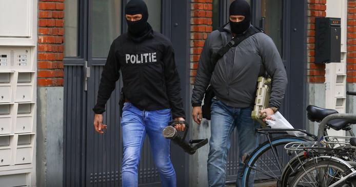 De politie hield eind vorig jaar vier terreurverdachten aan.