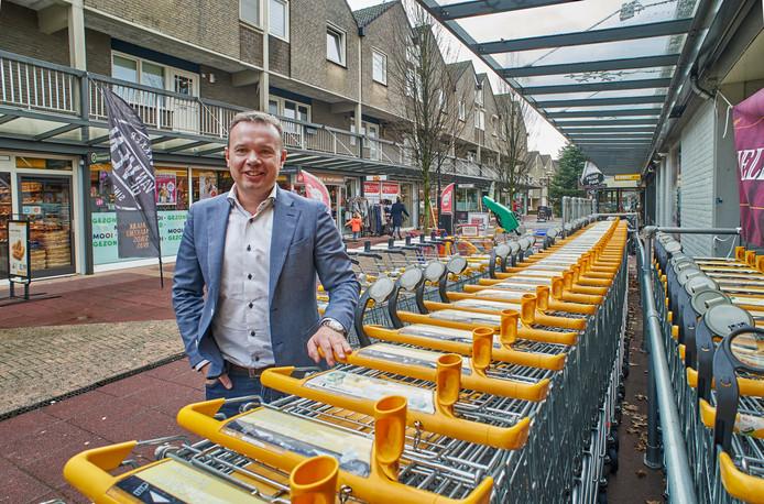 Roland de Laak wil winkelcentrum Drossaard nog meer laten bruisen.