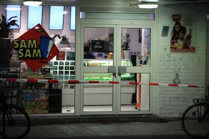 Overval op snackbar Sam Sam aan de Bikolaan in Delft
