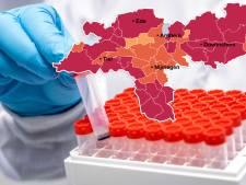 CORONAKAART | Besmettingscijfers dalen in regio lang niet overal, dat is vooral in Oost Gelre zorgelijk