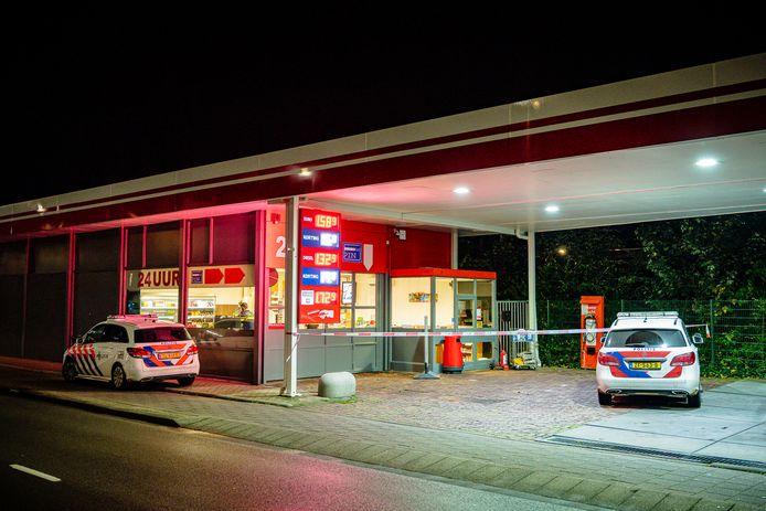 Overval op tankstation aan de Spoorlaan in Tilburg
