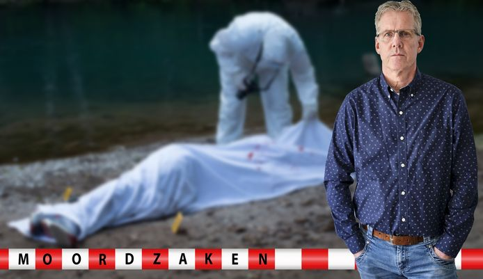 Sander Sonnemans bij een plaats delict