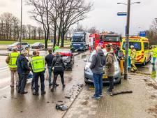 Vrouw en kind gewond bij ongeval in Eindhoven