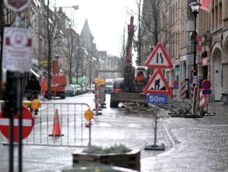 """Werken aan het kruispunt Boterstraat, Boomgaardstraat en Neermarkt: """"Tijdlang geen doorgaand verkeer meer mogelijk"""""""