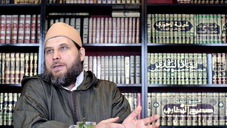Imam Fawaz Jneid. Beeld ANP