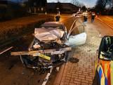 Automobilist klapt vol op truck in Moergestel
