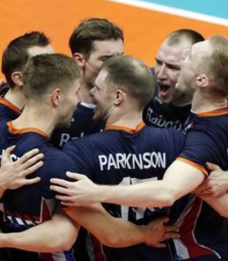 Volleyballers boeken belangrijke zege op Finland bij WK