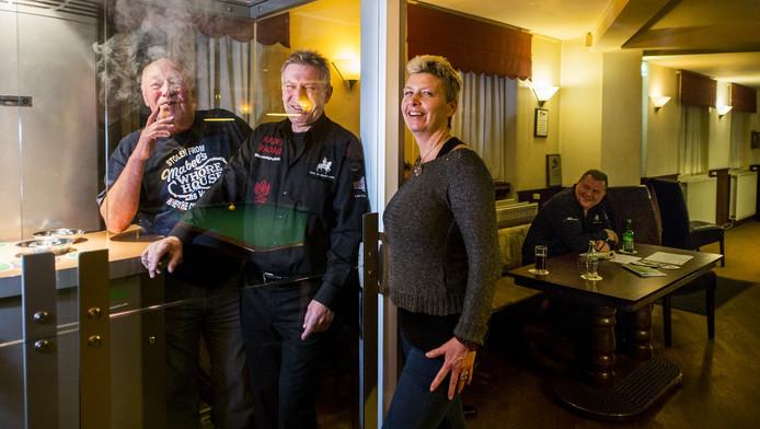Rookruimte in café De Nieuwe Prins in Delft