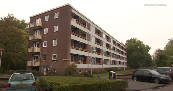 Het appartementencomplex aan de Beethovenlaan in Doetinchem.
