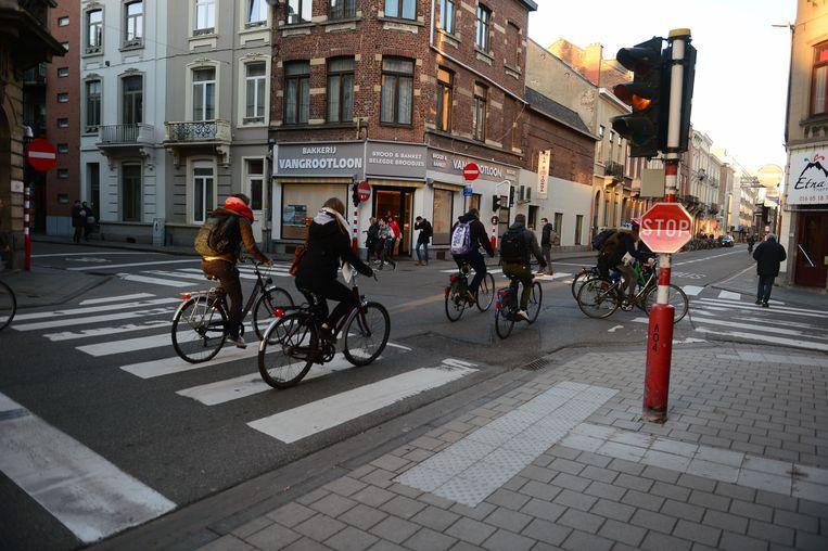 Het circulatieplan heeft vier jaar na de invoering meer fietsers en minder autoverkeer opgeleverd in het centrum van Leuven.