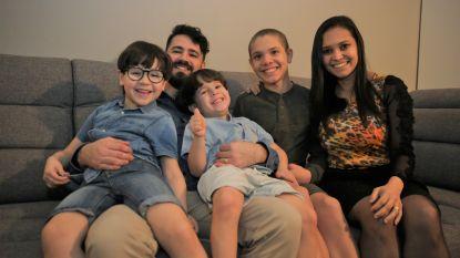 """Braziliaans gezin weer thuis na twee maanden in terugkeerwoning: """"Kinderen zijn door de hel gegaan, maar we geven de hoop niet op"""""""