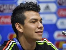 PSV-nieuweling Lozano  blijft op de bank bij winnend Mexico