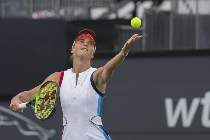 Bibiane Schoofs mag zich deze week gaan opmaken voor een duel met Elina Svitolina, nummer vier van de wereld.