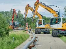 Teamwork bij Teeffelen: onderhoudswerkzaamheden waterleiding