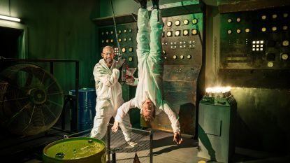 """Staf en Mathias Coppens laten de proeven nu over aan bekende duo's: """"Mix van 'Fort Boyard' en 'Het lichaam van Coppens'"""""""