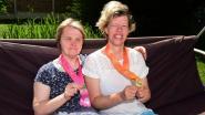 Benedicte en Sofie deden het goed op de Special Olympics