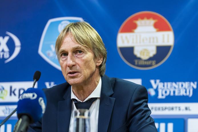 Willem II-coach Adrie Koster