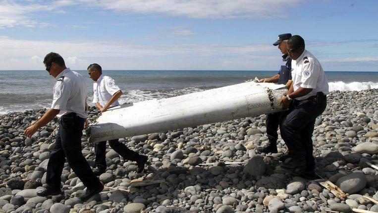 Het wrakstuk werd gevonden op het eiland Réunion.