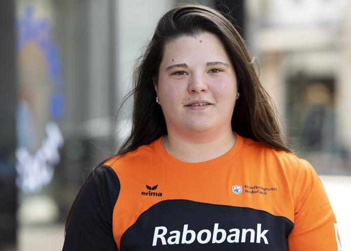2019-05-16 15:06:54 DEN BOSCH - Portret van handboogschutter Jody Vermeulen. ANP PIROSCHKA VAN DE WOUW