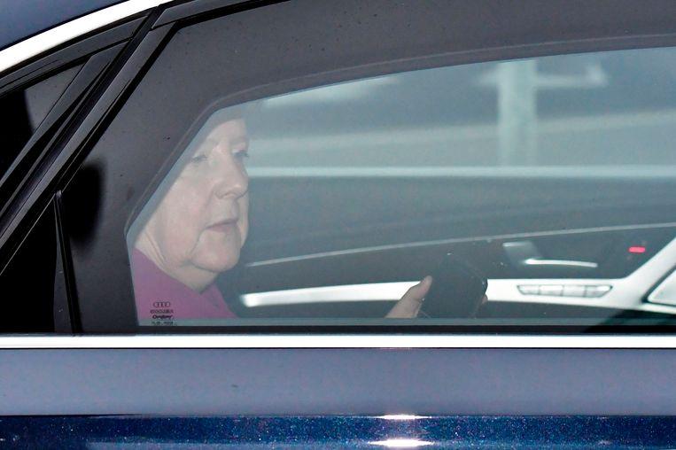 Duits bondskanselier Angela Merkel.