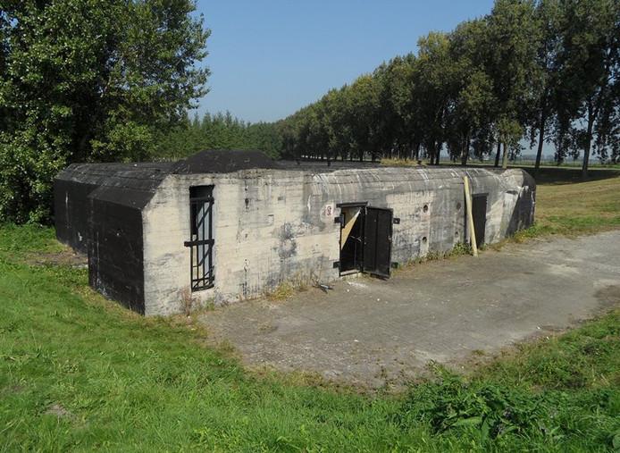 De omstreden bunker aan de Beerpolderweg in Dordrecht.