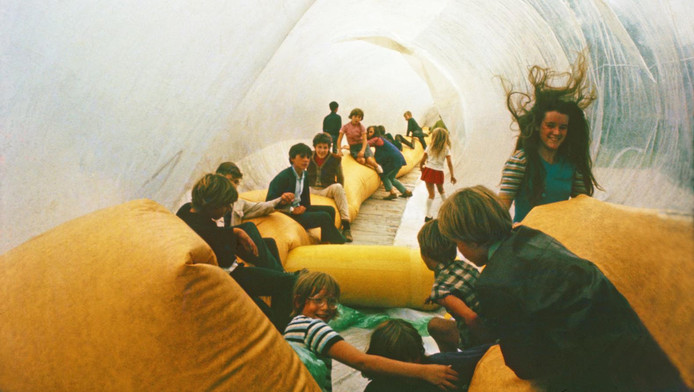 Eventstructure Research Group, Tubing, Frederiksplein, 1969.