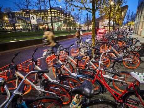 Rotterdam wil imago van de deelfiets verbeteren: meer stallingsplekken en overlast tegengaan