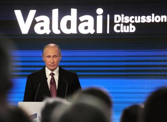 Poetin in Sotsji