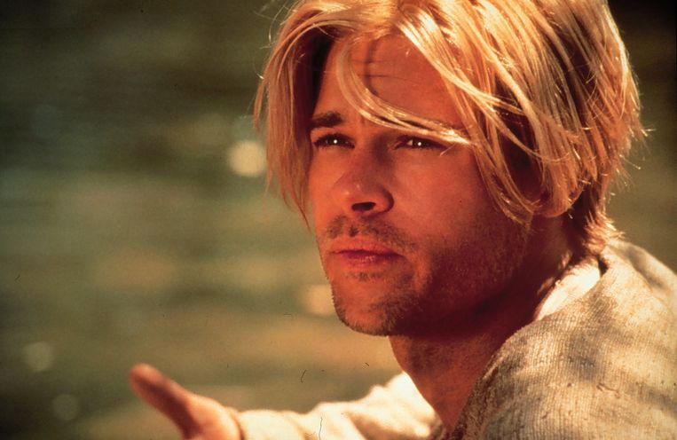 Brad Pitt in Seven years in Tibet. Beeld Anp.