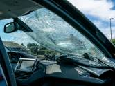 Auto zwaar beschadigd door vallende tak in Oosteind