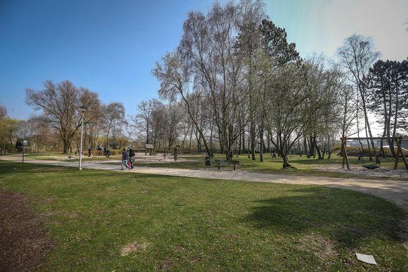 Het Kapermolenpark, één van de locaties voor de culturele activiteiten.