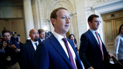 Facebookbaas Zuckerberg ontmoet Donald Trump in Witte Huis