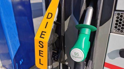 Diesel tanken vanaf morgen opnieuw duurder
