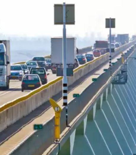 Opgepast: de trajectcontrole op de Zeelandbrug gaat binnenkort aan