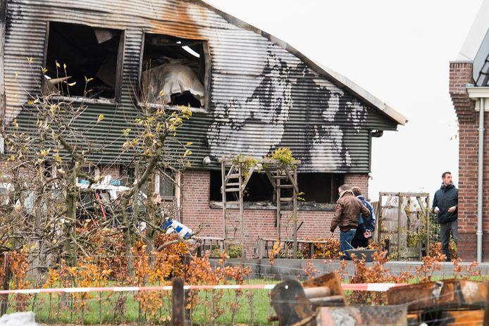 De politie arresteerde zaterdagmiddag de 35-jarige boer op zijn erf in Werkhoven.